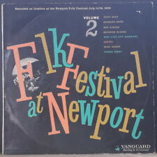 FOLK FESTIVAL AT NEWPORT 1959 VOL. 2 VANGUARD VRS-9063 AUS LP BAEZ, ODETTA, DANE