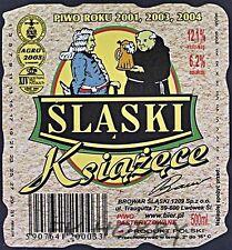 Poland Brewery Lwówek Śląski Książęce Beer Label Bieretikett Cerveza ls130.4