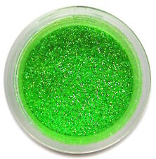 Neon Heat Green Deco Glitter 5g for Cake Decor, Fondant, Gum Paste