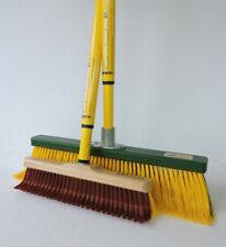 2x Special Broom - Indoor + Outdoor - Broom Revolution Rakebroom Clawbroom