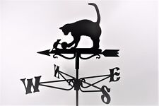 Cat and Mouse Metal Weathervane