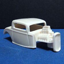 Jimmy Flintstone HO 1934 Ford Hot Rod Resin Slot Car Body For T-jet - #7