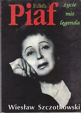 Edith Piaf-Zycie Mit Legenda Music book