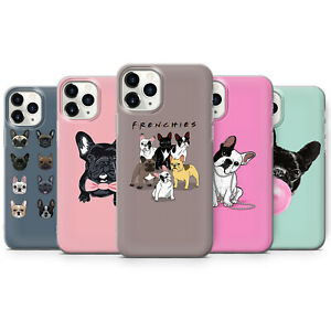 Cute French Bulldog Mom Puppy Dog Pattern Frenchie Phone Cases covers iPhone 12