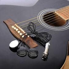 Universal Acoustic Guitar Pickup Piezo Transducer Ukulele Mandolin Banjo Pickups