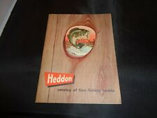 "Vintage 1953 Heddon  Fishing Tackle Box Size Catalog, 5"" x 6-3/4"""