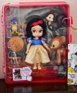 Snow White Mini Doll Playset Disney Animators Collection