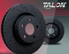 TM Disc Brake Rotor-Quiet Slot Rotor Front Hawk Perf HUS8626