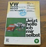 VW 1500 / 1600 Typ 3 1961-1973 WERKSTATT HANDBUCH Jetzt helfe ich mir selbst