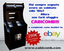CABICOMB CABINATO ARCADE KIT STILE ANNI '80s NUOVO!!!