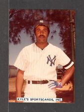 1980 Juan Espino YANKEES UNSIGNED 3-1/2 x 4-7/8 COLOR ORIGINAL SNAPSHOT PHOTO #2