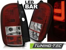 Faro Fanale Tuning DACIA DUSTER 04.10- LED BAR Rosso/Bianco