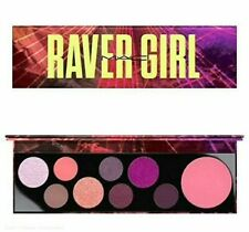 Mac Cosmetic Eyeshadow Palette Raver Girl Eye Shadow 8 Shadow + Highlight Powder