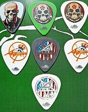 Anthrax expanded 7-guitar pick Selection - Brand New