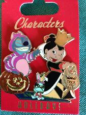 Disney WDI - Halloween 2012 - Lilo Stitch and Scrump Cheshire Queen Hearts Pin