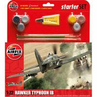 AIRFIX A55208 Hawker Typhoon IB Starter Set 1:72 Aircraft Model Kit