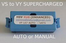 "VS to VY Commodore Supercharged V6 ""HSV XU6 ENHANCED"" Memcal VATS or no VATS"
