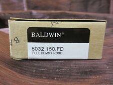 Baldwin 5032150Fd Pair of Estate Dummy Rosettes Satin Nickel New in Box