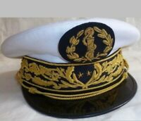 Replica French navy admiral general hat