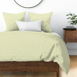 Yellow Pineapple Tropical Summer Fruit Pineapples Sateen Duvet Cover by Roostery