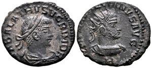 VABALATHUS & AURELIAN (271 AD) Antoninianus. Antioch #TF 8550
