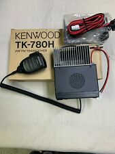 Kenwood TK-780H VHF New Old Stock/Microphone/Cable/Bracket