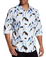 Robert Graham Men's Long Sleeve Barrowcliffe Abstract Shirt Classic Fit Multi