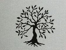 "Olive Tree Laser Cut Wood Wall Art Decor 12"" Tree of Life"