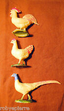 gallo gallina fagiano del presepe crib vintage marchi made in italy hen pheasant