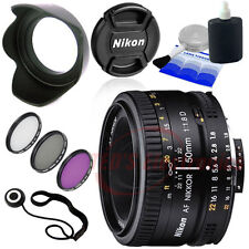 Nikon AF Nikkor 50mm f/1.8D Autofocus Lens for SLR Camera D7100 D7000 D90 & more
