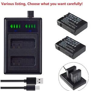 EN-EL14A Battery or USB Dual charger For Nikon D3300 D3400 D5300 D5500 D5600