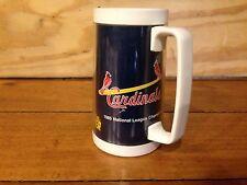 """Vintage 1985 St. Louis Cardinals National League Champs 6"""" Plastic Mug Bud Light"""