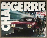 1976 Chrysler Charger original Australian sales brochure - 13/3001155 no sticker