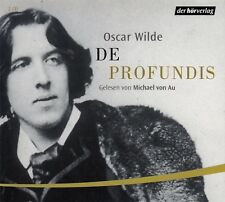 OSCAR WILDE : DE PROFUNDIS / 2 CD-SET (HÖRBUCH)