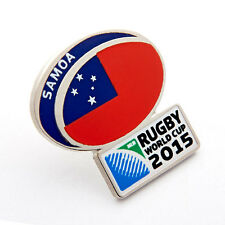 Rugby World Cup 2015 Samoa Flag Pin