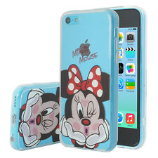 Cover Silicone TPU Ultra-Fine Minnie Mouse for Apple iPhone 5C