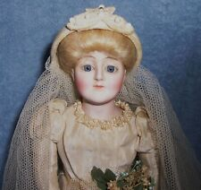 BEAUTY~Antique German Bisque J.D.K. Kestner Doll~GIBSON GIRL LADY BRIDE~Original