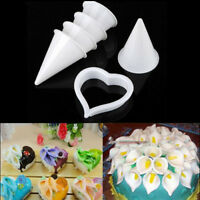 7x Cake Decor Plunger Cutter Mold Sugarcraft Fondant Tools Calla Lily Flo JR