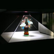 1* 3D Hologram Pyramid Display Projector Video Universal for Smart Cell Phone