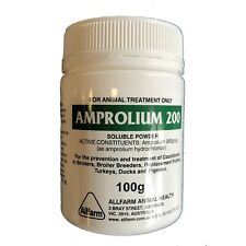 AMPROLIUM 200 100g Coccidiosis FREE EXPRESS POST (Birds CHOOKS Chickens Poultry)