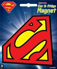 DC Comics Superman S Chest Logo Over Daily Planet Refrigerator Magnet NEW UNUSED