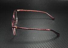 GUCCI GG0550O 003 Cat Eye Red Shiny Burgundy Demo Lens 51 mm Women's Eyeglasses