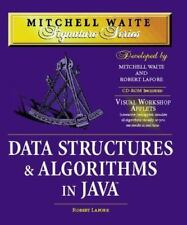 Mitchell Waite Signature: Data Structures and Algorithms in Java by Mitchell Wai