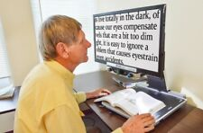 """Low Vision Magnifier -Zoomax Aurora HD 24"""" Magnifier - 2 Year Warranty"""