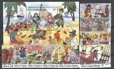 Walt Disney, Piraten - Turks u.Caicos-Inseln - ** MNH