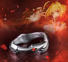 925 Silver Fate Stay Night Saber Ring Aestus estus New Year Gift L
