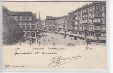 AK Wien I, Kärnterstrasse, Oper, Sirk-Ecke 1903