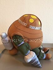 "Bioshock Mr. Bubbles Plush Big Daddy Pet Doll + Card First in Series 11"" TALL 2K"