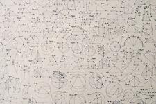 Blueprint paper ebay geometric formulas blueprint cyanotype on heavy watercolor paper original print malvernweather Gallery