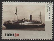 Première guerre mondiale SS / rms / HMS Arlanza RMSP PAQUEBOT / armés marchand Cruiser NAVIRE DE GUERRE CACHET